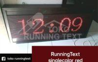 jual runningtext