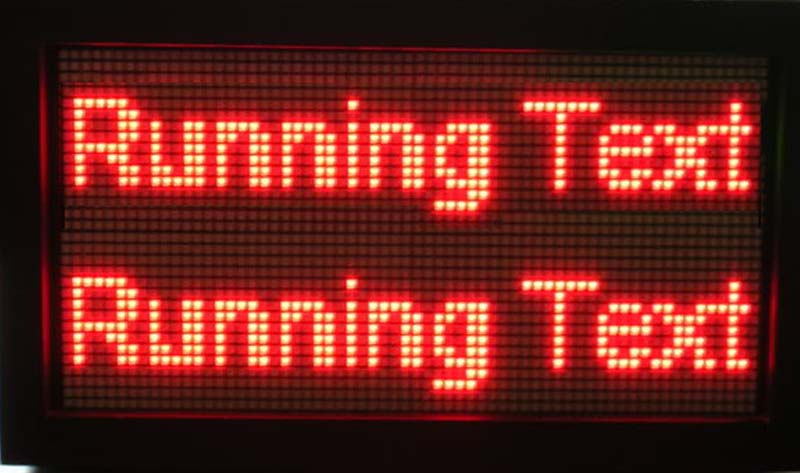 Harga Running Text Malang l Jenis - Jenis Running Text Moving Sign