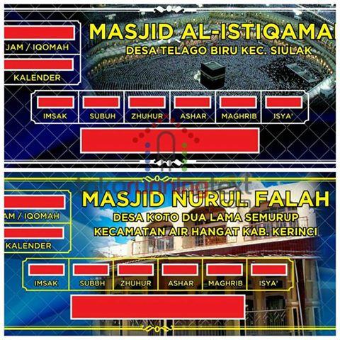 Manfaatkah Jadwal Shalat Digital Masjid ?