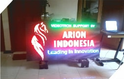 Running Text FULL COLOR 7Color Outdoor 1 Sisi 160x80