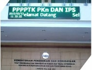 Running Text Single Color GREEN Semi Outdoor 1 Sisi 320x48