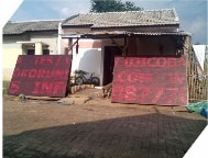 Running Text Single Color Red Outdoor 1 Sisi 224x160