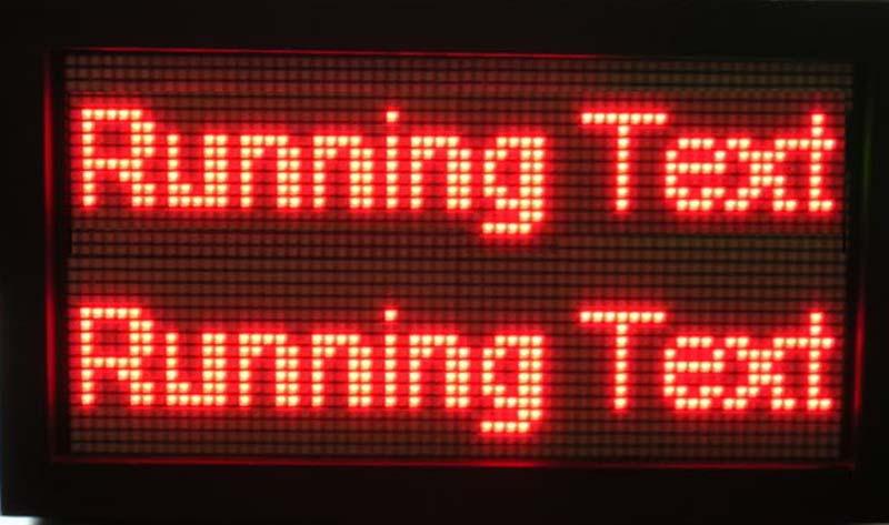 Harga Running Text Malang l Jenis - Jenis Running Text Moving Sign